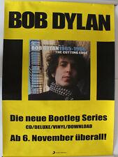 Original Werbeposter Bob Dylan Poster Album Bootleg Series
