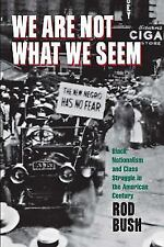 We Are Not What We Seem: Black Nationalism and Class Struggle in the American Ce