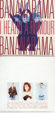 CD Single BANANARAMA I HEARD A RUMOUR 10-TRACK CARD SLEEVE REMIXES