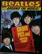 Beatles Around The World Magazine 1964