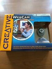 Creative Web Cam NX Pro Web Cam NIB Includes Microphone