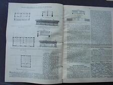 1906 Baugewerkszeitung  46  / Architekt Schubert Kassel Geflügelzucht