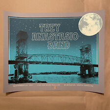 Trey Anastasio 2021-09-24 Wilmington NC Tom Shaw AP Signed Numbered XX/40 Poster