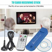 Portable Digital USB2.0 TV Stick Card USB DVB-T Tuner Receiver for Laptop PC JS