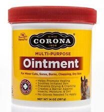 Corona Ointment Lanolin Enriched Formula & Antiseptic Horses Other Animals 14oz
