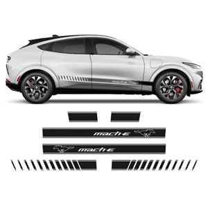 MACH - E Graphic Side stripes, for Ford Mustang 2021