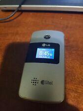 Lg Ax275 - Silver (Alltel) Cellular Phone