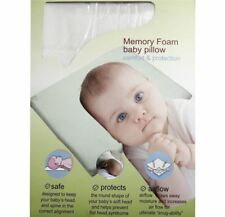Baby Pillow Anti Flat Head Syndrome Memory Foam For Child Comfort Protection