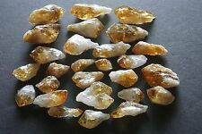 Citrine Points 1/4 Lb Lots Gold Yellow Geode Crystals