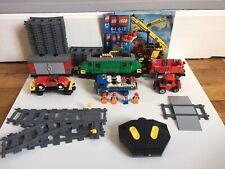 lego City train de marchandise 7898 avec telecommande