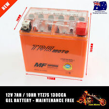 NEW Mx Motocross Dirt Bike 12 Volt 7AH Motorbike YTZ7S 12V Motorcycle Battery