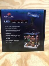 New listing Coralife Led Clip-On Marine Light Fixture For Tanks Up to 20 Gallons