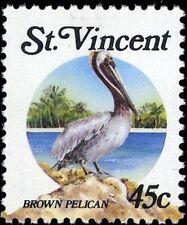 St Vincent and Grenadines Birds Stamps