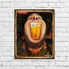 Hoegaarden sign, pub decor, Bar sign, beer gifts, Hoegaarden beer, beer sign