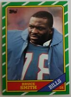 Bruce Smith Topps 1986 NFL Sports Trading Card #389 Buffalo Bills