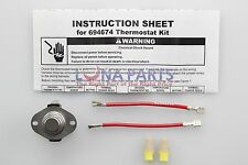 Genuine Whirlpool Cycling Thermostat 694674 OEM WP694674 AP6010610 PS11743793