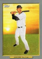 2020 TOPPS BASEBALL TURKEY RED CARD # TR-68 - GARY SANCHEZ - NEW YORK YANKEES