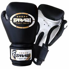 Farabi Kids Boxing gloves kickboxing MMA Muay Thai Punching Mitts 4-oz Age 4-8 Y