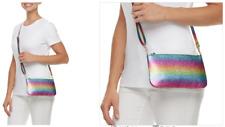 NEW Phone Charging Crossbody Travel Bag Purse - RAINBOW Glitter