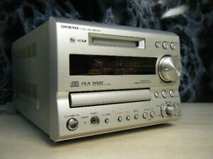 Onkyo FR-X9A CD MD Recorder Compact Disk Mini Disk Deck  W/Remote Used Audio
