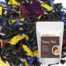 Passion Fruit Black Tea - Premium Loose Leaf Blend - Fusion Teas