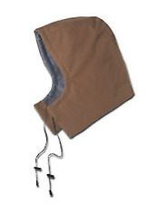 Workrite Flame Resistant 11oz. Ultra Soft Duck Insulated Hood, Brown, 577Ut11