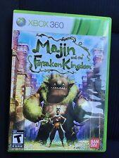 Majin and the Forsaken Kingdom (Microsoft Xbox 360, 2010) Complete