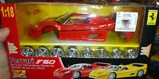MAISTO 39823 FERRARI F50 RED 1:18 METAL BODY KIT FS