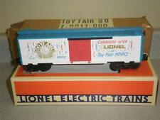 LIONEL 19911- 1990 TOY FAIR CAR- NEW- W4