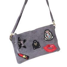 337065ef Damentaschen Flip top Bag Tasche Umhängetasche Flip-up Tasche Stern Star  viele Farben Vintage