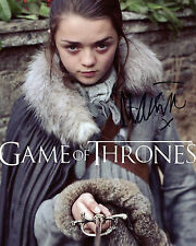 Maisie Williams - Arya Stark - Game of Thrones - Signed Autograph REPRINT