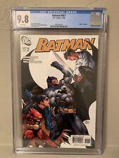 DC Batman #657 CGC 9.8 NM/MINT 2nd App Damian Wayne Morrison Kubert