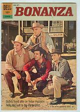 Bonanza #12-070-210 August 1962 VG+ photo cover