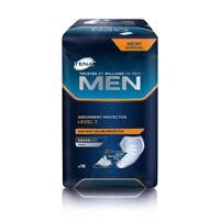 1x TENA Men Absorbent Protector - Level 3 - Pack of 16 - 800ml