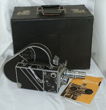 Cine Kodak Special II 16mm Camera Outfit w/ Lenses, Case & Accessories