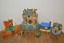 Harry Potter Mini Playsets Hogwarts Castle Forbidden Corridor Hagrids Quidditch