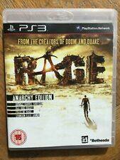 Rage Anarchy Edition DLC Valid (unsealed) - PS3 UK Release New!