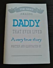 Father's Day Gift 12 page booklet about Daddy or Grandad