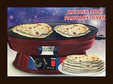 Fladenbäcker Pancake Katmer Backautomat  Yufka Saci Crepes Gözleme Sac Ofen Neu