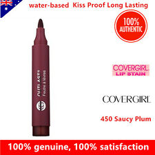COVERGIRL Outlast Lipstain lipstick 450 Saucy Plum Kiss Proof Long Lasting