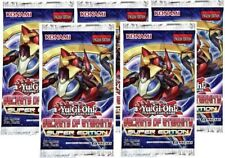 YuGiOh! Secrets of Eternity: Super Edition New and Sealed Booster Pack x5