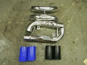 2.7L Allroad Audi RS4 RS6 B5 A6 Allroad Turbo Inlet Pipes Silver S4 K04 B5S4 2.7