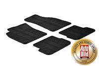 Design Passform Gummimatten Gummi Fußmatten für Audi A6 4F ab Bj 2004 bis 2010