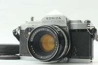 [For Parts] Konica Autorex 35mm Film Camera w/Hexanon 52mm f/1.8 From Japan