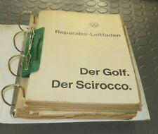 Reparaturanleitung VW Golf 1 Scirocco 1  ab 1974