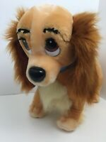 "Lady And The Tramp Disneyland Walt Disney World Lady Toy Plush 15"" RARE Vintage"