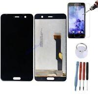 ECRAN LCD + VITRE TACTILE BLOC COMPLET ASSEMBLE POUR HTC U PLAY NOIR VERRE NEU