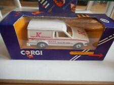"""Corgi Ford  Escort Van """"Kays"""" in White in Box"""