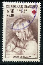 STAMP / TIMBRE FRANCE OBLITERE N° 1467 CROIX ROUGE / RENOIR