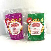 1999 McDonald's Mystic Knights Of Tir Na Nog Torc + Mider Toys Happy Meal